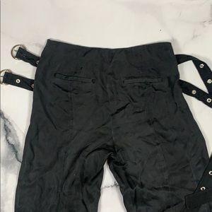 Pants & Jumpsuits - Wide leg belted pant